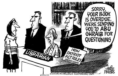 Cartoonist Mike Peters  Mike Peters' Editorial Cartoons 2005-04-08 literature