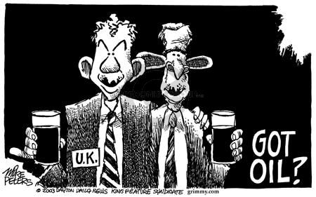 Mike Peters  Mike Peters' Editorial Cartoons 2003-04-10 fuel