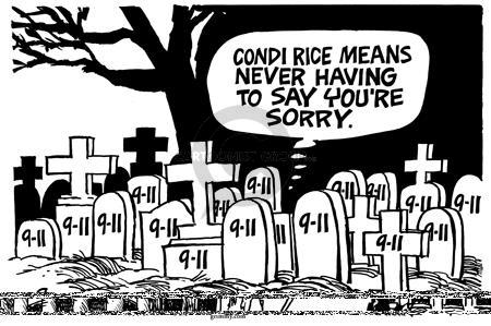 Cartoonist Mike Peters  Mike Peters' Editorial Cartoons 2004-04-10 national security