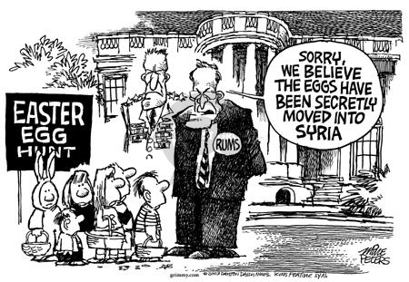 Cartoonist Mike Peters  Mike Peters' Editorial Cartoons 2003-04-18 move