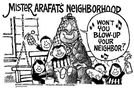 Mike Peters  Mike Peters' Editorial Cartoons 2002-04-20 Israel