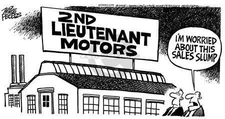 Mike Peters  Mike Peters' Editorial Cartoons 2005-04-23 car sales