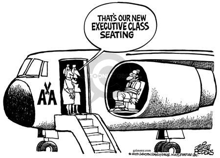 Cartoonist Mike Peters  Mike Peters' Editorial Cartoons 2003-04-26 airline travel
