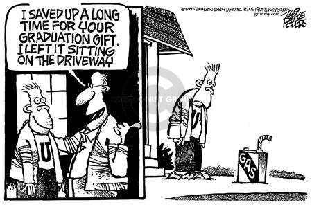Mike Peters  Mike Peters' Editorial Cartoons 2005-04-29 energy cost