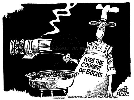 Mike Peters  Mike Peters' Editorial Cartoons 2003-05-01 federal budget