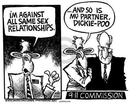 Cartoonist Mike Peters  Mike Peters' Editorial Cartoons 2004-05-01 9-11-01