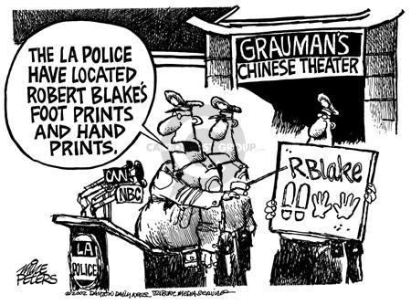 Cartoonist Mike Peters  Mike Peters' Editorial Cartoons 2002-05-03 police department