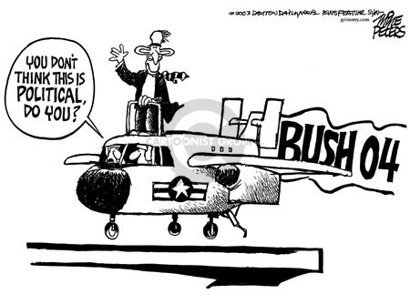 You dont think this is political, do you?  Bush 04.