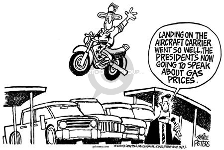 Mike Peters  Mike Peters' Editorial Cartoons 2003-05-04 gas price