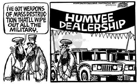 Mike Peters  Mike Peters' Editorial Cartoons 2004-05-06 automobile energy
