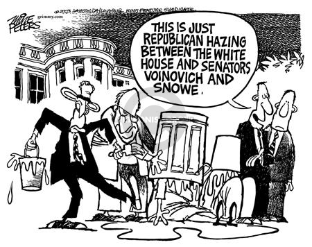 Cartoonist Mike Peters  Mike Peters' Editorial Cartoons 2003-05-10 tax