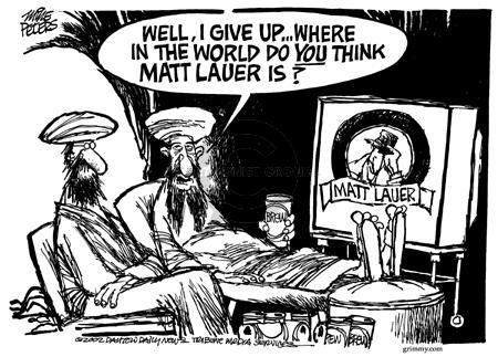 Cartoonist Mike Peters  Mike Peters' Editorial Cartoons 2002-05-16 terrorist