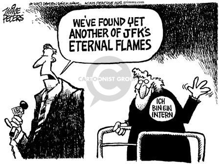 Cartoonist Mike Peters  Mike Peters' Editorial Cartoons 2003-05-18 literature