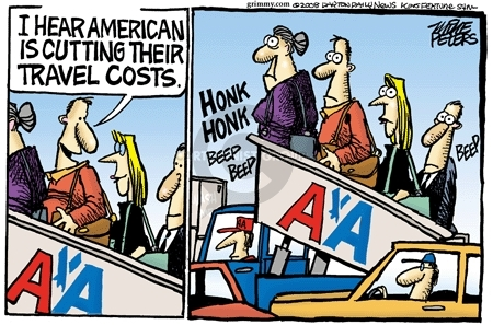 Mike Peters  Mike Peters' Editorial Cartoons 2008-05-21 travel
