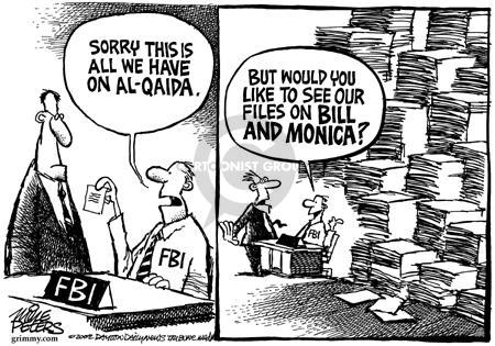Cartoonist Mike Peters  Mike Peters' Editorial Cartoons 2002-05-23 terrorist