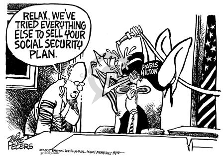 Mike Peters  Mike Peters' Editorial Cartoons 2005-05-27 sell