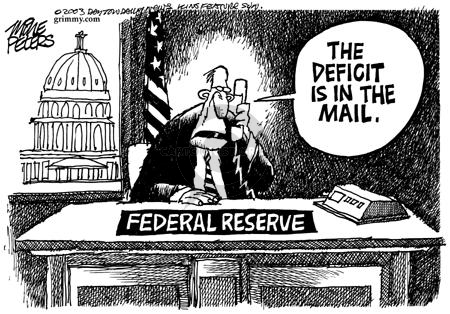 Mike Peters  Mike Peters' Editorial Cartoons 2003-06-08 deficit