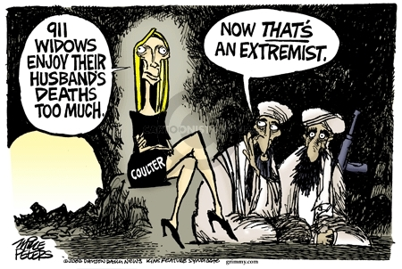Cartoonist Mike Peters  Mike Peters' Editorial Cartoons 2006-06-10 extremism
