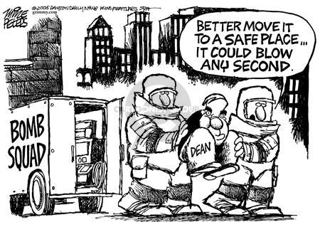 Cartoonist Mike Peters  Mike Peters' Editorial Cartoons 2005-06-12 move