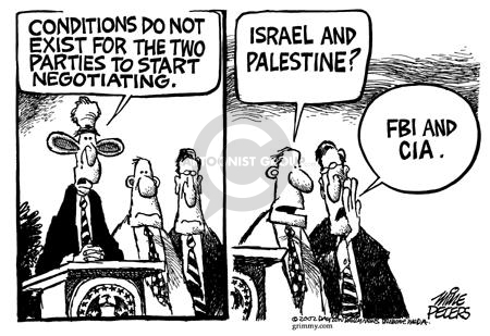Mike Peters  Mike Peters' Editorial Cartoons 2002-06-13 Israel