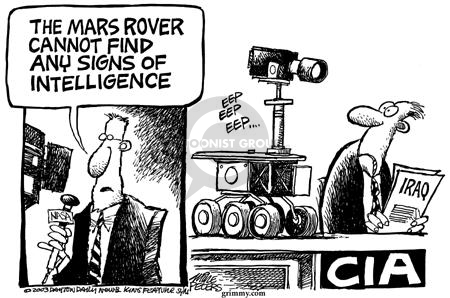 Cartoonist Mike Peters  Mike Peters' Editorial Cartoons 2003-06-13 CIA