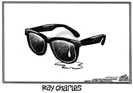Cartoonist Mike Peters  Mike Peters' Editorial Cartoons 2004-06-14 eye