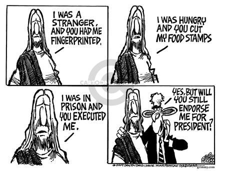 Cartoonist Mike Peters  Mike Peters' Editorial Cartoons 2004-06-18 capital