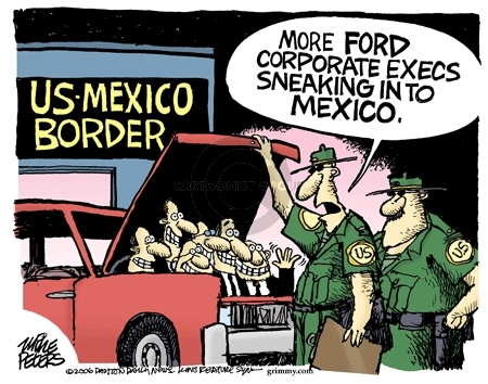 Mike Peters  Mike Peters' Editorial Cartoons 2006-06-19 automotive