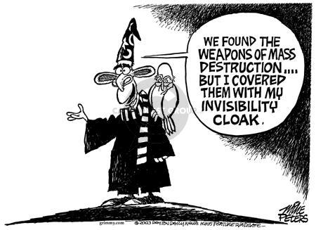 Cartoonist Mike Peters  Mike Peters' Editorial Cartoons 2003-06-19 literature