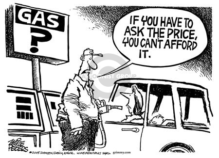 Mike Peters  Mike Peters' Editorial Cartoons 2005-06-26 gas price