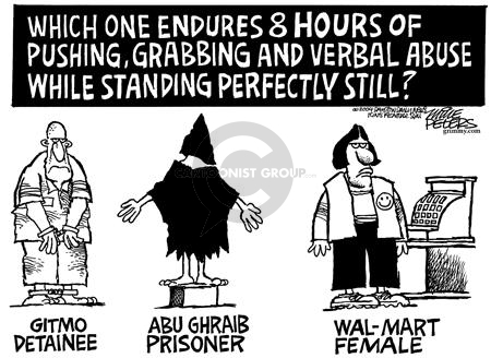 Cartoonist Mike Peters  Mike Peters' Editorial Cartoons 2004-06-27 terrorist
