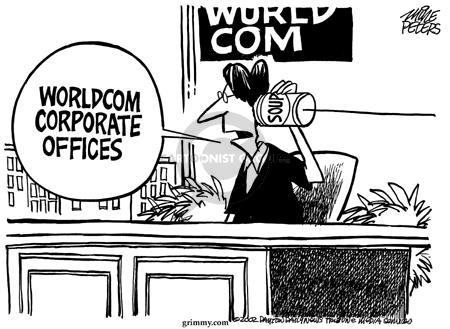 Mike Peters  Mike Peters' Editorial Cartoons 2002-06-28 finance