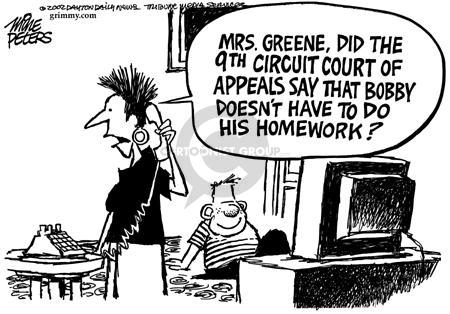 Cartoonist Mike Peters  Mike Peters' Editorial Cartoons 2002-06-29 liberty