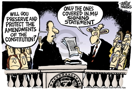 Cartoonist Mike Peters  Mike Peters' Editorial Cartoons 2006-06-30 Constitution