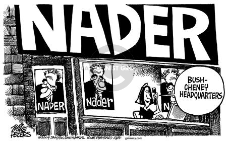 Cartoonist Mike Peters  Mike Peters' Editorial Cartoons 2004-07-07 alignment