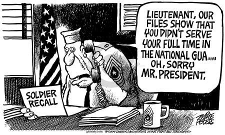 Mike Peters  Mike Peters' Editorial Cartoons 2004-07-03 recall