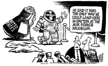 Cartoonist Mike Peters  Mike Peters' Editorial Cartoons 2003-07-04 Dayton
