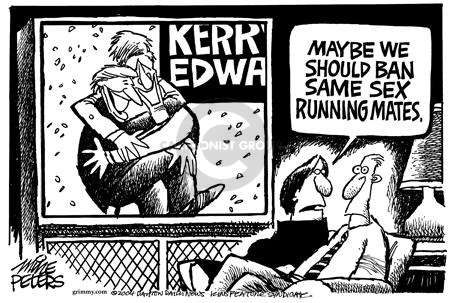 Mike Peters  Mike Peters' Editorial Cartoons 2004-07-11 affection