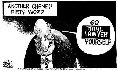 Mike Peters  Mike Peters' Editorial Cartoons 2004-07-12 settlement