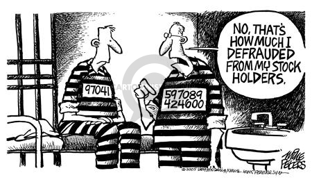 Mike Peters  Mike Peters' Editorial Cartoons 2005-07-15 stock market