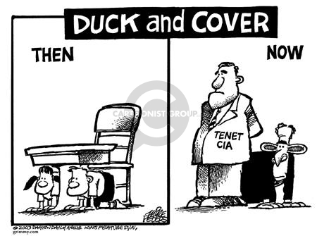 Cartoonist Mike Peters  Mike Peters' Editorial Cartoons 2003-07-18 CIA