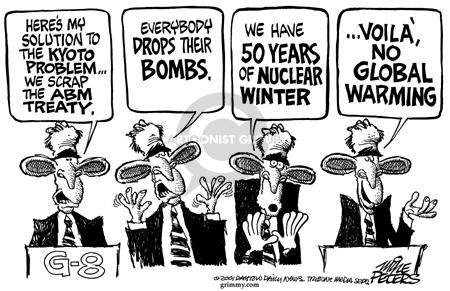Mike Peters  Mike Peters' Editorial Cartoons 2001-07-21 WMD
