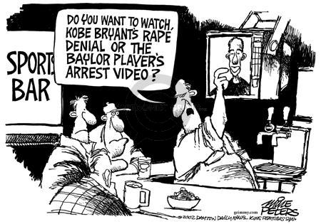 Mike Peters  Mike Peters' Editorial Cartoons 2003-07-24 murder