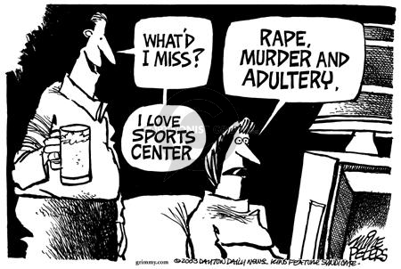 Mike Peters  Mike Peters' Editorial Cartoons 2003-07-25 NBA