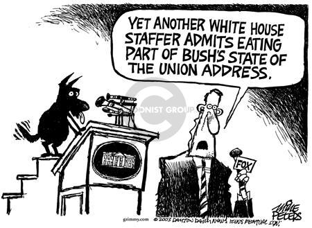 Cartoonist Mike Peters  Mike Peters' Editorial Cartoons 2003-07-26 Barney