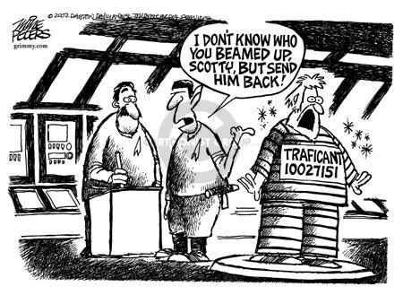 Cartoonist Mike Peters  Mike Peters' Editorial Cartoons 2002-07-27 Scott