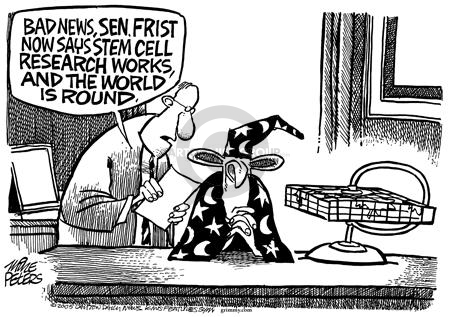 Cartoonist Mike Peters  Mike Peters' Editorial Cartoons 2005-07-31 republican president