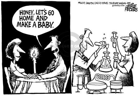 Cartoonist Mike Peters  Mike Peters' Editorial Cartoons 2001-08-10 family