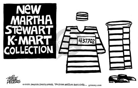 Mike Peters  Mike Peters' Editorial Cartoons 2002-08-10 stock market