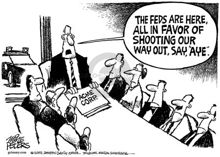 Cartoonist Mike Peters  Mike Peters' Editorial Cartoons 2002-08-11 financial